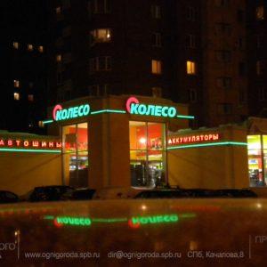 КОЛЕСО. Вывеска на Ленинском проспекте