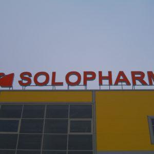 SOLOPHARMA. Крышная установка