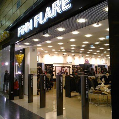 FINN FLARE. Новый магазин в МЕГЕ Дыбенко