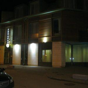 Подсветка отеля «Новый Петергоф»