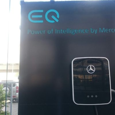 Mercedesbenz зарядная станция