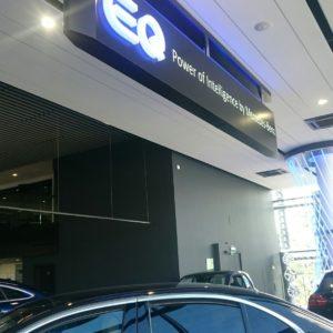 Световой короб Mercedes Benz